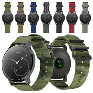 Watch Band for Nokia Withings Steel HR 36mm/40mm Durable Soft Nylon Wrist Strap