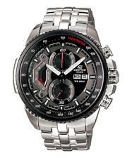 Casio EF558D-1A Edifice 45MM Men's Stainless Steel Watch