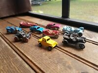 Vintage Tootsietoy Diecast Cars Tootsie Toy & other unknown diecast cars, (9)lot