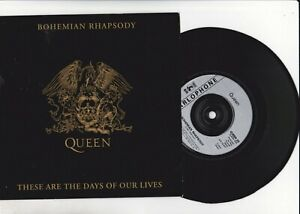 Queen – Bohemian Rhapsody / These Are The Days Of Our Lives  Vinyl 45 Queen 20