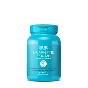 GNC Total Lean L-Carnitine 1000MG Burns Excess Fat Weight Loss FAT Burner Weight