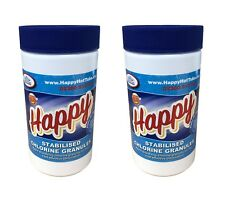 2 x 1kg Quality Chlorine Granules Hot Tub Spa Tubs Swimming Pool 2kg Chemicals