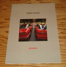 Original 1990 Acura Legend & Integra Sales Brochure 90