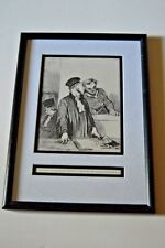 Set of 6 Honore Daumier lithographs of French lawyers 1800-1899