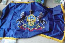 New listing Vintage New Old Stock Dettra Dura-Lite Nylon Pennsylvania State Flag 3x5' Nib