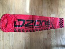 Small Red Ozone Wind Sock for Paramotoring and Paragliding
