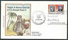 1983 VATICANO VIAGGI DEL PAPA HONDURAS SUYAPA - RM2