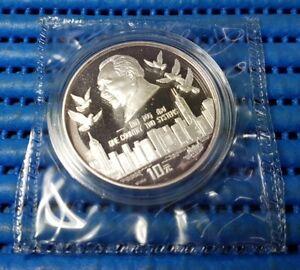 1995 China 10 Yuan Hong Kong Return to China 97 Silver Proof Commemorative Coin