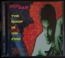 WestBam – The Roof Is On Fire CD 1991 Us Issue TSR Records – D2-75755 NM