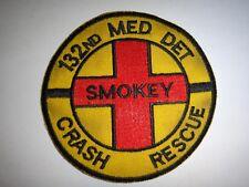 Korea War (1950-1953) Patch US 132nd Medical Detachment SMOKEY CRASH RESCUE