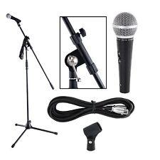 Super Mikrofon komplett Set mit Mikro Ständer Kabel für die Stars von morgen