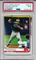 2019 Topps Update Michael Chavis Rookie #US170 PSA 9 Mint Graded Red Sox RC