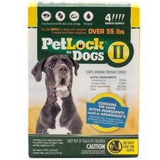 PetLock II Flea Treatment and Prevention for Dogs over 55 LB 4 MONTH