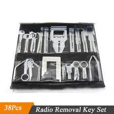 38 Pcs Auto Car Radio CD Player Audio Stereo Removal Release Key Set Tools Kit