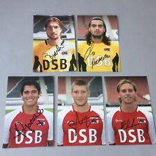 AZ ALKMAAR  5 Spieler  In-person signed 5 Fotos  10x15 Autogramme