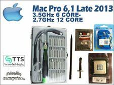 2013 Apple Mac Pro 6,1 CPU upgrade kit to 3.5GHz 6- 2.7GHz 12 Core E5-2697v2