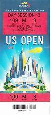 2014 US OPEN TENNIS MARIA SHARAPOVA ROGER FEDERER SESSION #13 TICKET STUB 8/31