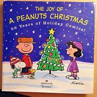 "2000 HALLMARK ""THE JOY OF A PEANUTS CHRISTMAS"" 50 YEARS OF HOLIDAY COMICS BROWN"