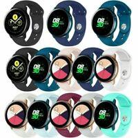 Ersatz Silikon Uhrenarmbänder Armband Strap Für Samsung Galaxy Watch Active Uhr