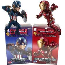 Banpresto Marvel Civil War Captain America WCF Premium Iron Man Mark 46 Set 2pcs