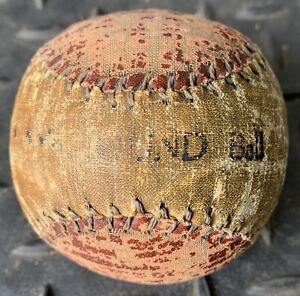 ANTIQUE DIAMOND BASEBALL VINTAGE BALL