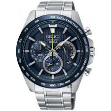 Seiko Gents EXCLUSIVE Chronograph Date Display Watch SSB301P1-NEW