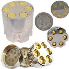 NEW BULLET SHAPE METAL GRINDER MAGNETIC HERB POCKET 50MM, NOT 40MM
