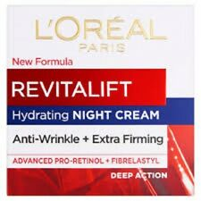 L'OREAL Revitalift Anti-Wrinkle + Extra Firming Hydrating NIGHT Cream 50ml
