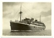 NEDERLAND S.M.N. 1933-8-12  FOTO AK SHIP =MARNIX VAN ST.ALDEGONDE=  VF