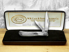 Case xx Peanut Knife Engraved Bolster White Pearl Corelon 9220WP/E