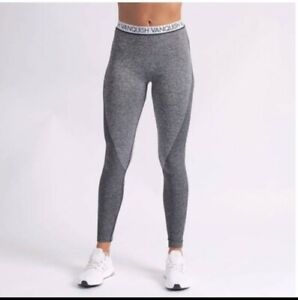 Vanquish Fitness Womens Seamless   Leggings Size Large medium * with flaws *