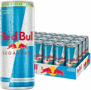 RED BULL ENERGY DRINK  SUGAR FREE- 24x250ml- Past Best Before Date