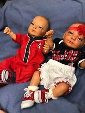 Reborn Baby Doll Full Body Twins