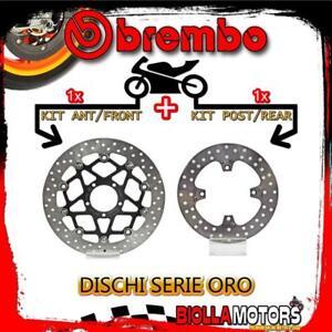 BRDISC-2829 KIT DISCHI FRENO BREMBO DUCATI STREETFIGHTER 2012- 848CC [ANTERIORE+