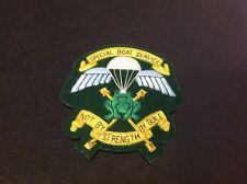 Special Boat Service (SBS) Gold bullion Blazer Badge Old Design