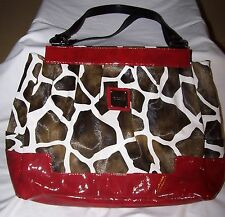 MICHE Prima Shell LEXI Large Shoulder Bag Purse Giraffe Animal Print RETIRED