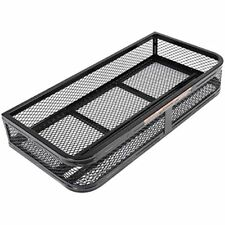 Universal Atv Front Cargo Basket Rack Luggage Carrier Steel Mesh Surface