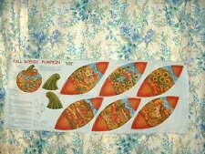 Halloween FQ Fat Quarter Tissu Citrouilles Fantômes Chauves-souris 100/% coton quilting