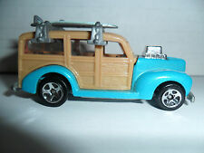 Mattel Hot Wheels 1979 40's Ford Woodie W/ Surf Boards(no more left)