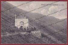 VERBANIA MIAZZINA 23 RIFUGIO PIAN CAVALLONE Cartolina viaggiata 1915