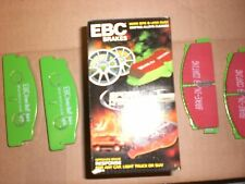 FIAT EBC GREEN STUFF DISC BRAKE PADS-REAR, PERFORMANCE