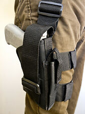 Nylon Tactical Drop Leg Holster with Mag Pouch for SIG SAUER ARMS SP2022