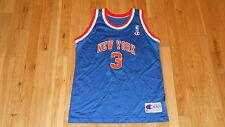 VINTAGE CHAMPION JOHN STARKS NEW YORK KNICKS YOUTH NBA TEAM REPLICA JERSEY SZ XL