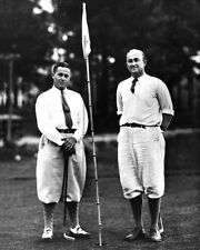American Golfer BOBBY JONES & TY COBB Glossy 8x10 Photo Golf Print Poster