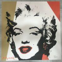 Andy Warhol Litografia Lenox Museum  cm 60x60 con certificato di autenticita'