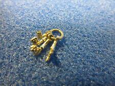 1/2th Escala Casa De Muñecas 4 teclas en un anillo hg32