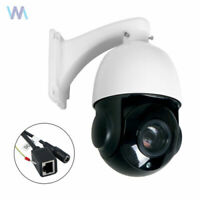 "4.0/"" POE HD Onvif Network Outdoor 5.0MP 30X Mini PTZ Camera IP Speed Dome IR"