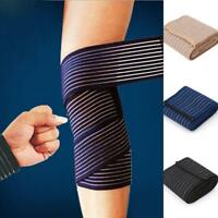Elastic Wrist Knee Ankle Elbow Calf Arm Sports Bandage Brace Support Wrap QK