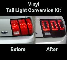 2002 2003 2004 Ford Mustang Tail Light Conversion Kit to 2013 - Vinyl Decal Wrap