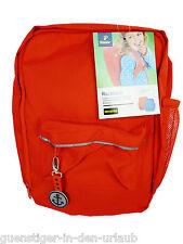 TCM Tchibo Kinder Rucksack orange Schulrucksack Tasche Backpack NEU